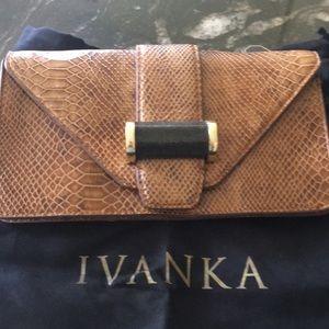 Ivanka trump leather handbag
